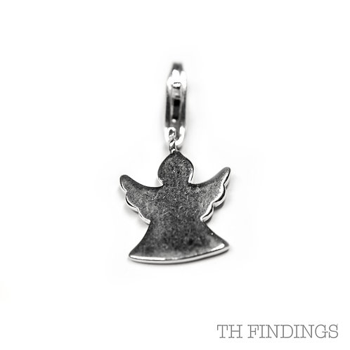 Sterling Silver 925 Angel Charm