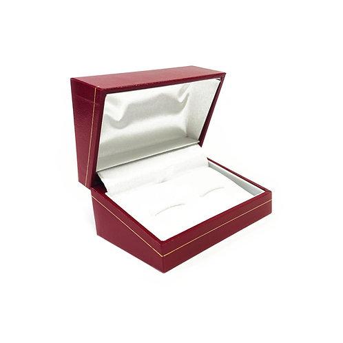Red Milano Cufflink Gift Box