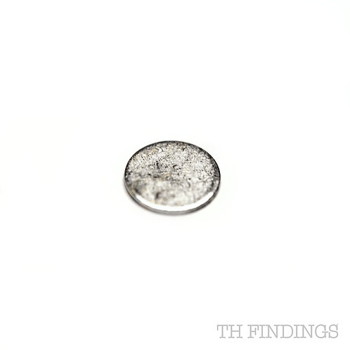 Sterling Silver 925 5mm Disc