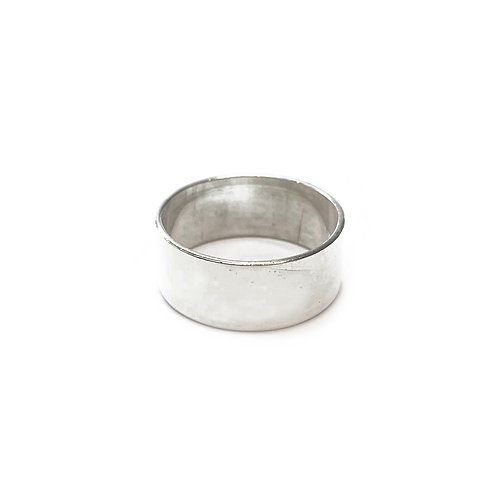 Sterling Silver 925 8mm Band Ring