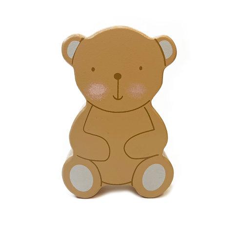 Children's Rattle - Teddy Design