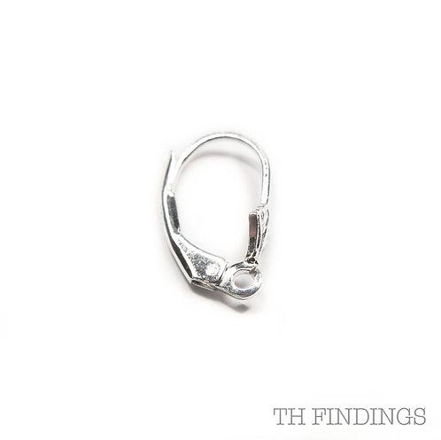 Sterling Silver 925 Kidney Earwire