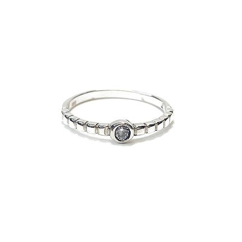Sterling Silver 925 CZ Ring