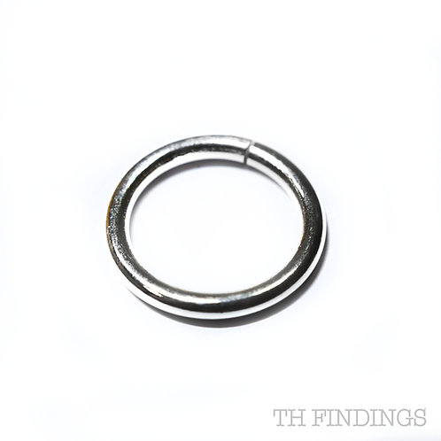 Sterling Silver 925 20mm Jump Ring 2.5mm Thick