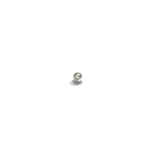 Sterling Silver 925 2mm Through Hole Ball