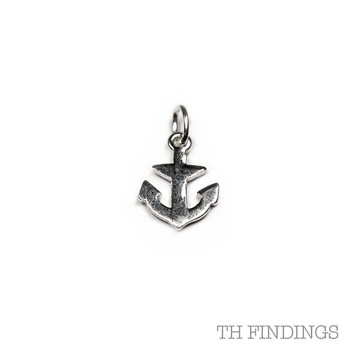 Sterling Silver 925 Anchor Charm