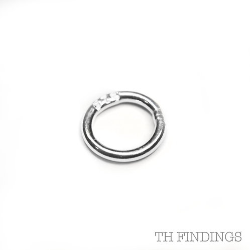 5mm Sterling Silver Soldered Jump Ring