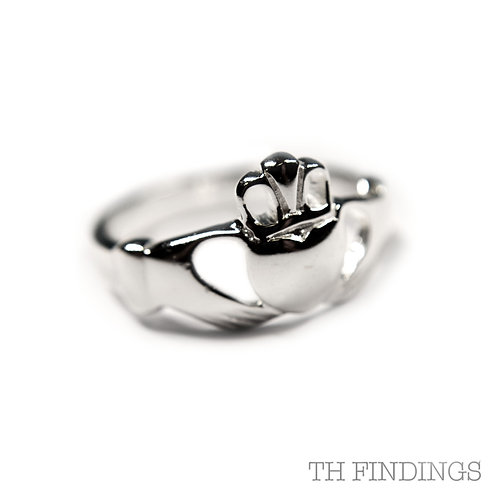 Sterling Silver 925 Claddagh Ring