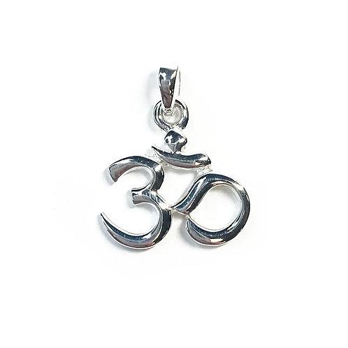 Sterling Silver 925 Ohm Pendant