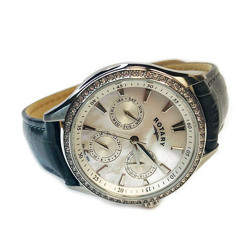 Rotary Mother of Pearl Wristwatch