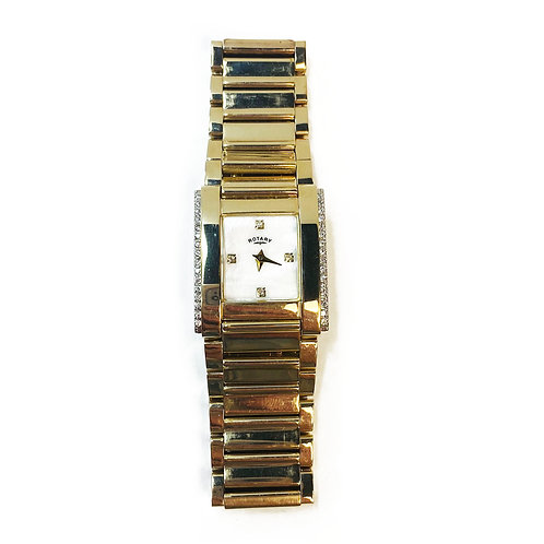 Gold Plated Rotary Wristwatch