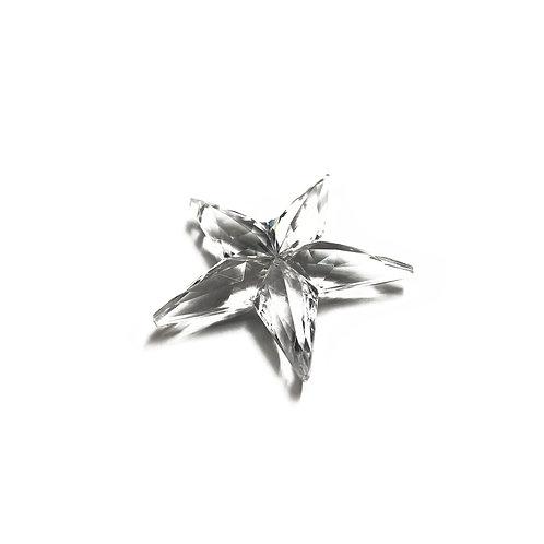 38mm Acrylic Clear Star