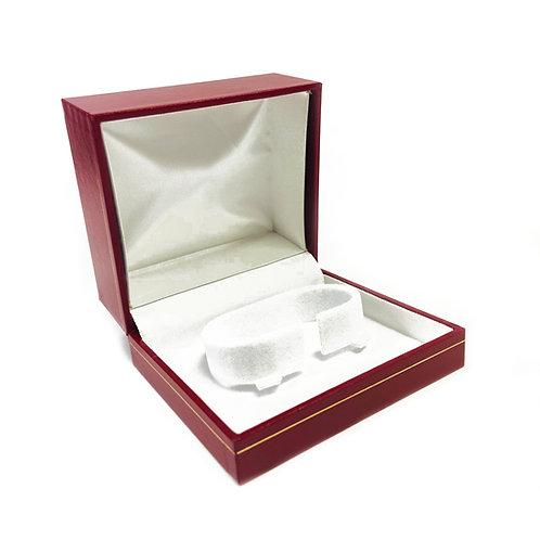 Red Milano Bangle & Watch Gift Box