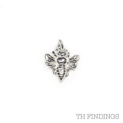 Sterling Silver 925 Bee Charm