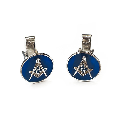 Sterling Silver 925 Masonic Cufflinks