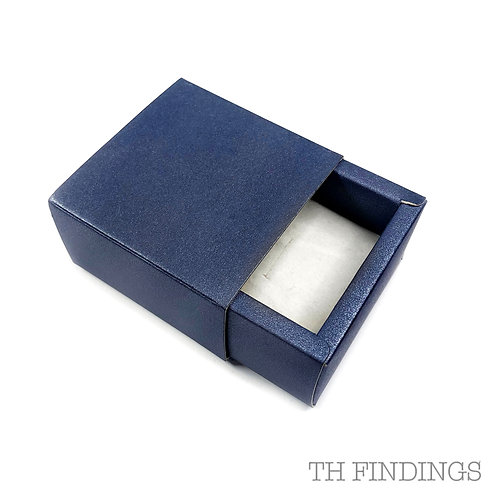 Self Assembly Navy Cardboard Gift Boxes Various Sizes Available