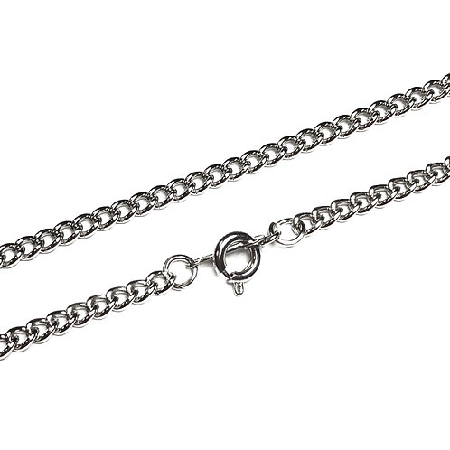 "20"" Plated Curb Chain in Various Finishes"
