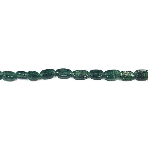 Small Green Aventurine Semi Precious Bead Strand