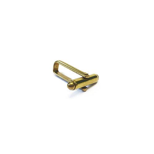 15mm Frame Brass Cufflink