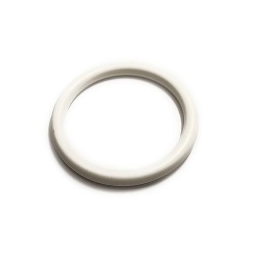 "5cm (2"") White Plastic Ring Component"