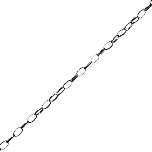 Sterling Silver 925 Medium Belcher Chain by the metre