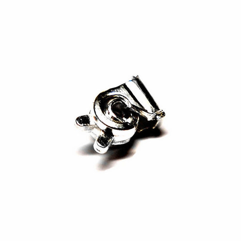 Ballou 1/2 Ball Safety Catch in Nickel Silver
