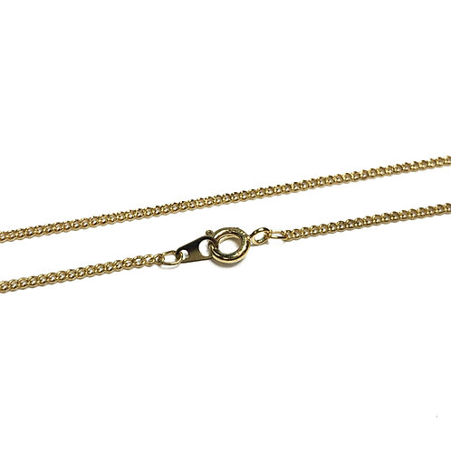 Silver Plated Fine Trace Chain in Various Lengths