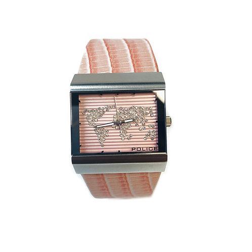 Pink Police Wristwatch