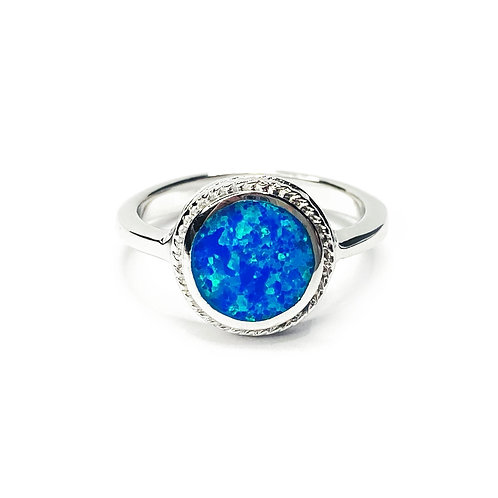 Synthetic Opal Ring