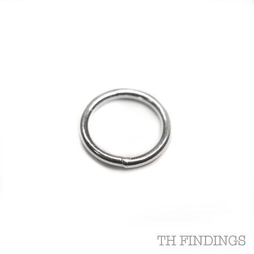 7mm Sterling Silver Soldered Jump Ring