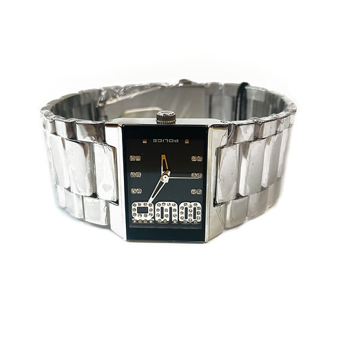 Stainless Steel Police Wristwatch