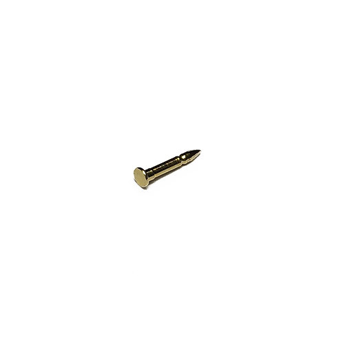 "Ballou 5/16"" Brass Badge Pin with 2.5mm Pad"
