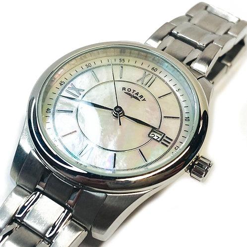 Rotary Two Tone Wristwatch