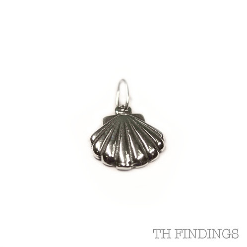 Sterling Silver 925 Shell Charm
