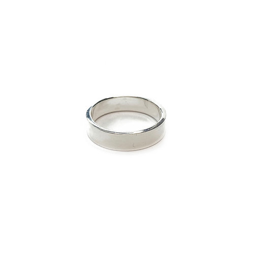 Sterling Silver 925 5mm Band Ring