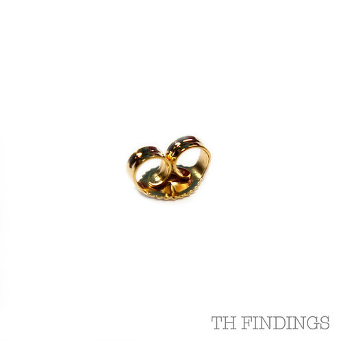 9ct Gold Butterfly Scroll