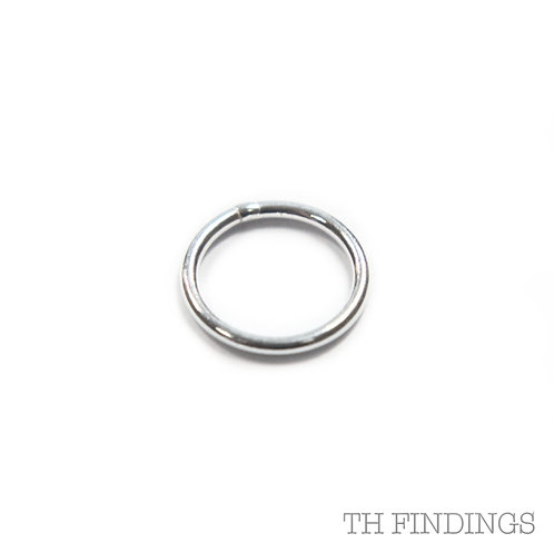8mm Sterling Silver Jump Ring