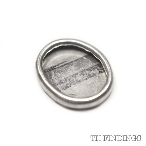 Sterling Silver 925 10x8mm American Collet