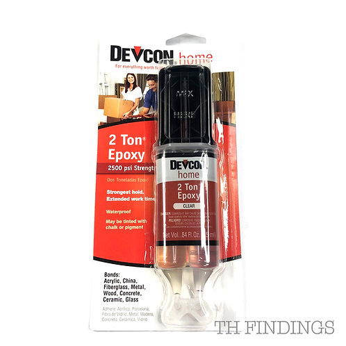 Devcon 2 Ton Epoxy Adhesive 25ml Syringe