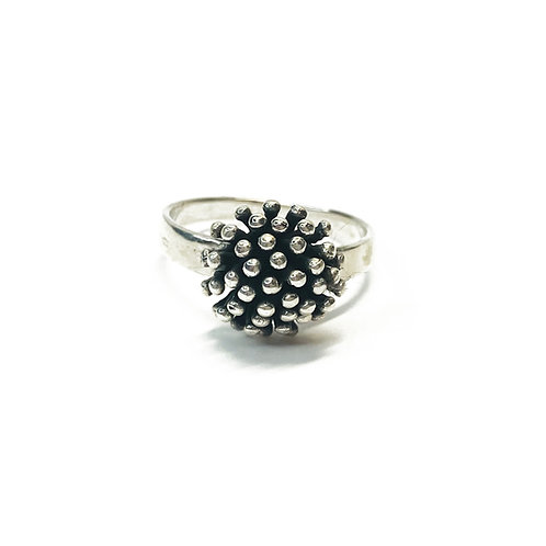 Sterling Silver 925 Cluster Ring