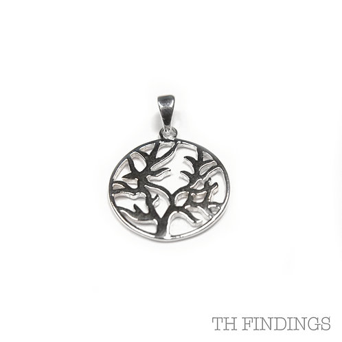 Sterling Silver 925 Tree of Life Pendant
