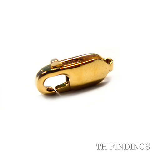 9ct Gold 14mm Trigger Catch