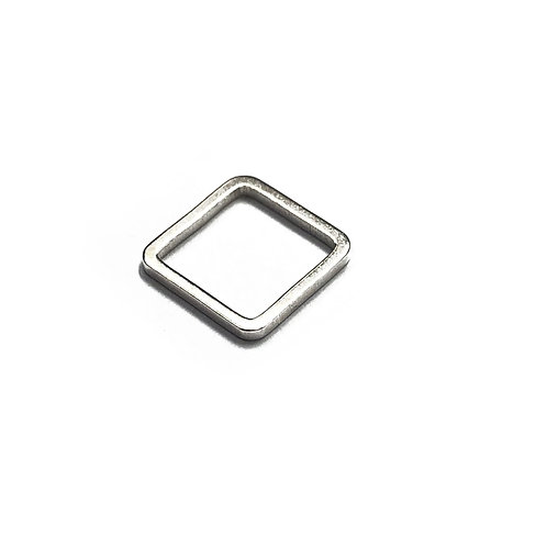 10mm Square Spacer in Plated Finishes