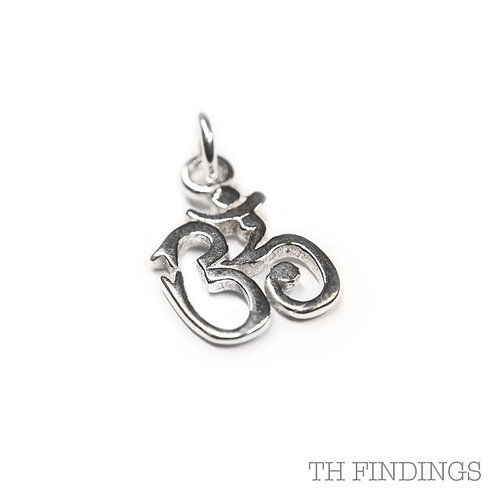 Sterling Silver 925 Ohm Peace Charm