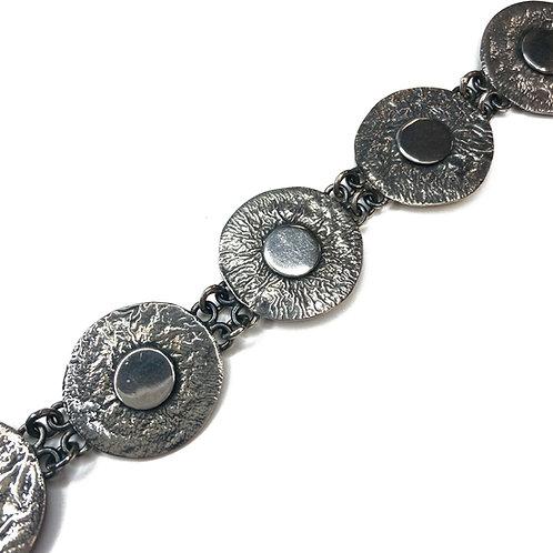 Sterling Silver Boho Cufflinks
