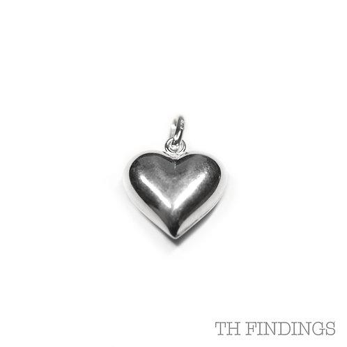 Sterling Silver 925 Heart Pendant