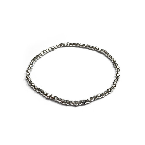 Sterling Silver 925 Stretch Bracelet