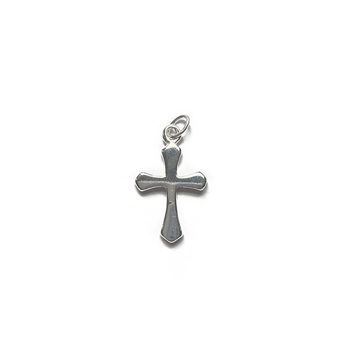 Sterling Silver 925 Simple Cross Pendant