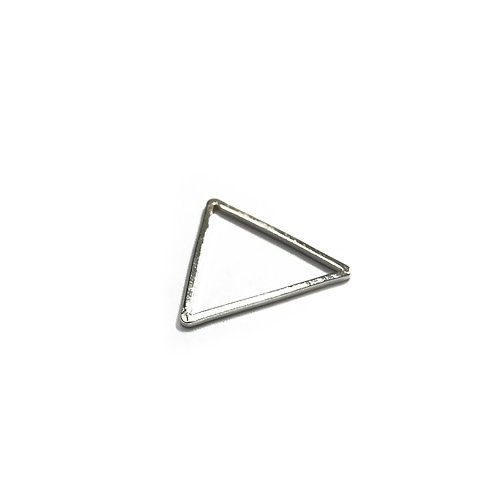 15mm Triangle Spacer in Plated Finishes