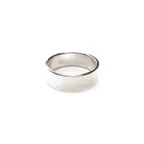 Sterling Silver 925 6mm Band Ring